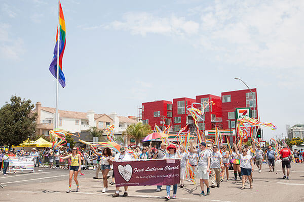 First Lutheran Church of San Diego - Reconciling in Christ Gay Pride Parade